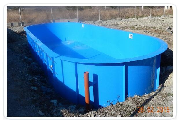 Бассейн для питьевой воды своими руками 249